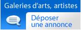 Annonces galeries d'arts