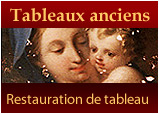 Restauration de tableaux Paris