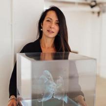 Jasmine Pradissitto, artiste sculptrice