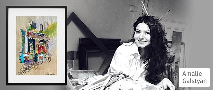 amalie-galstyan-artiste-peintre-aquarelliste-cafe-le-mistral-paris