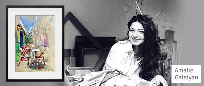 amalie-galstyan-artiste-peintre-aquarelliste-rue-montmartre-paris