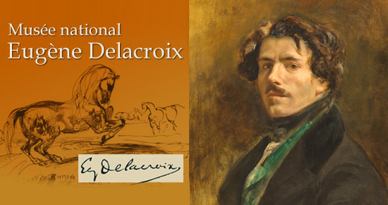 Expo Musée Eugène Delacroix Paris