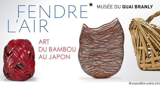 Expo art du bambou au japon, Musée du Quai Branly Paris