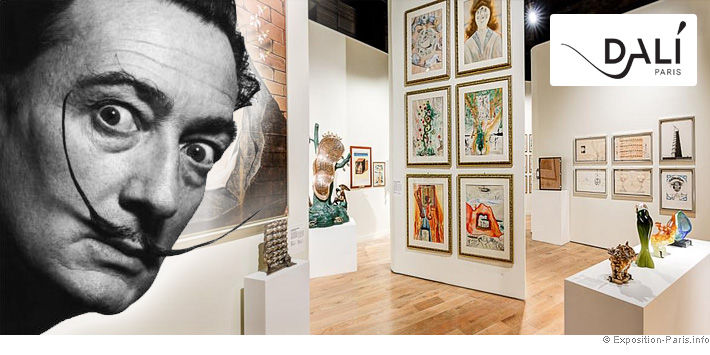 expo-dali-paris-salvadore dali-artiste-peintre-sculpteur-surrealiste