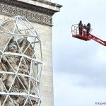 expo-gratuite-christo-etape-installation-empaquetage-arc-de-triomphe-paris