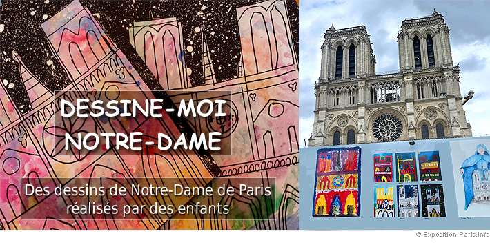 expo-gratuite-paris-dessine-moi-notre-dame-peinture-dessin-enfants