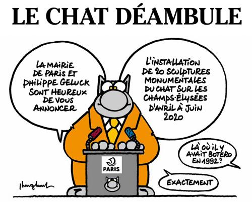 expo-gratuite-paris-le-chat-deambule-philippe-geluck-champs-elysees