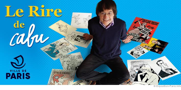 expo-gratuite-paris-le-rire-de-cabu-dessinateur-hotel-de-ville-paris