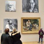 expo-gratuite-petit-palais-paris-Yan-Pei-Ming-Courbet