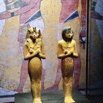 expo-paris-Toutankhamon-pharaon-statuettes-divinites-bois-dores