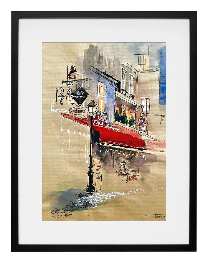 expo-paris-aquarelle-cafe-montorgueil-amalie-galstyan