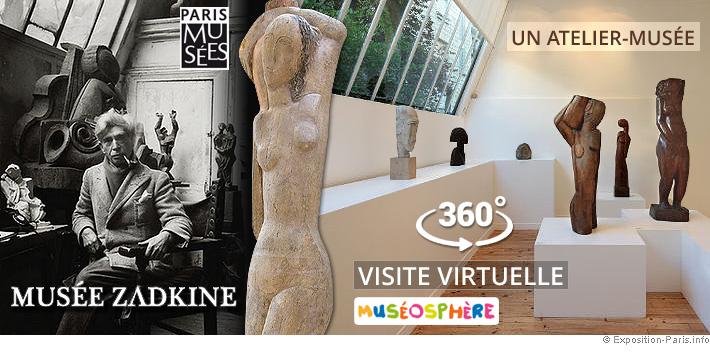 expo-paris-gratuite-visite-virtuelle-atelier-musee-zadkine-paris