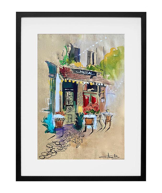 expo-paris-peinture-aquarelle-cafe-le-mistral-paris-amalie