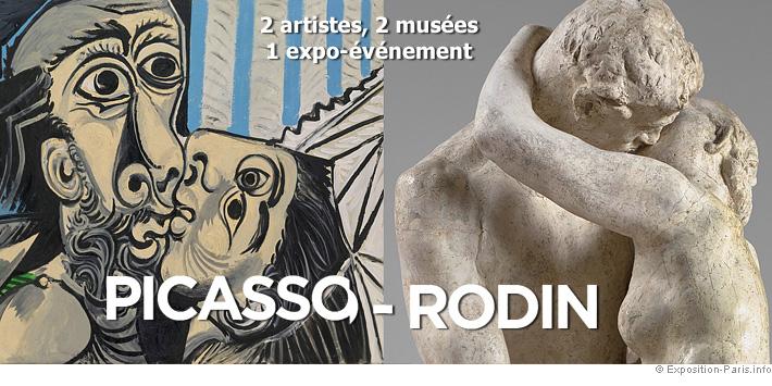 expo-paris-peinture-picasso-sculpture-rodin-2-artistes-2-musees