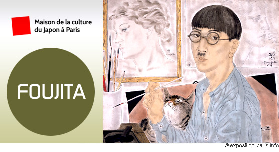 expo-peinture-Foujita-maison-de-la-culture-du-Japon-a-Paris