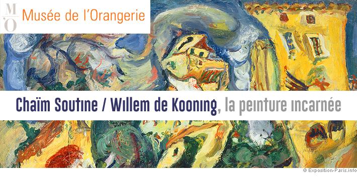expo-peinture-paris-chaim-soutine-willem-de-kooning-musee-orangerie-paris