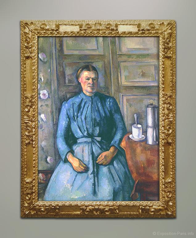 peinture-paul-cezanne-la-femme-a-la-cafetiere-musee-orsay-paris